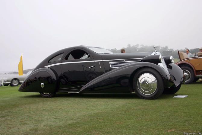 Rolls Royce Phantom I Aerodynamic Coupe by Jonckheere - 1924 Jonckh19