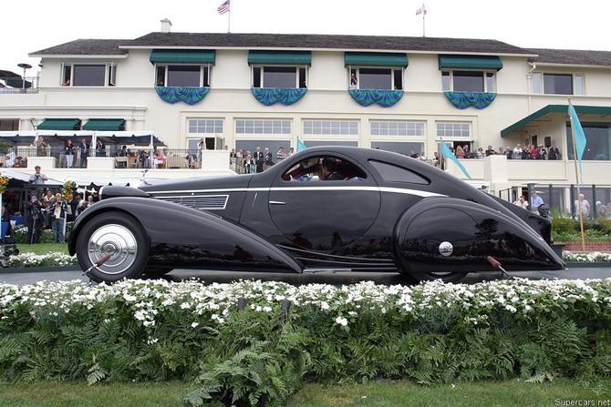 Rolls Royce Phantom I Aerodynamic Coupe by Jonckheere - 1924 Jonckh20