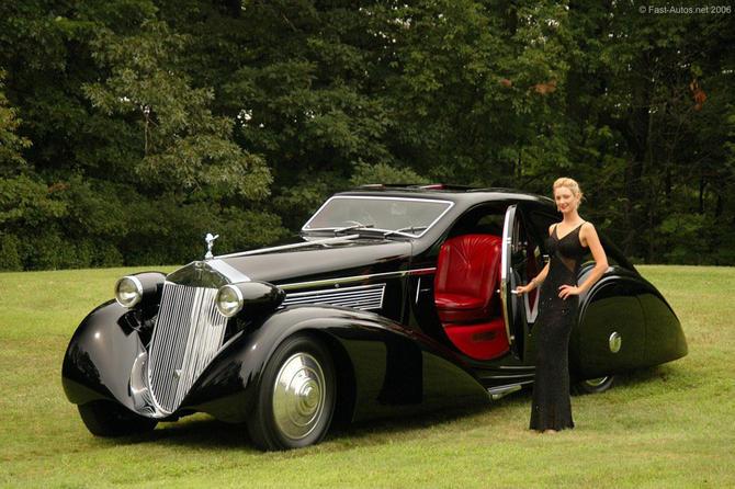 Rolls Royce Phantom I Aerodynamic Coupe by Jonckheere - 1924 Jonckh21