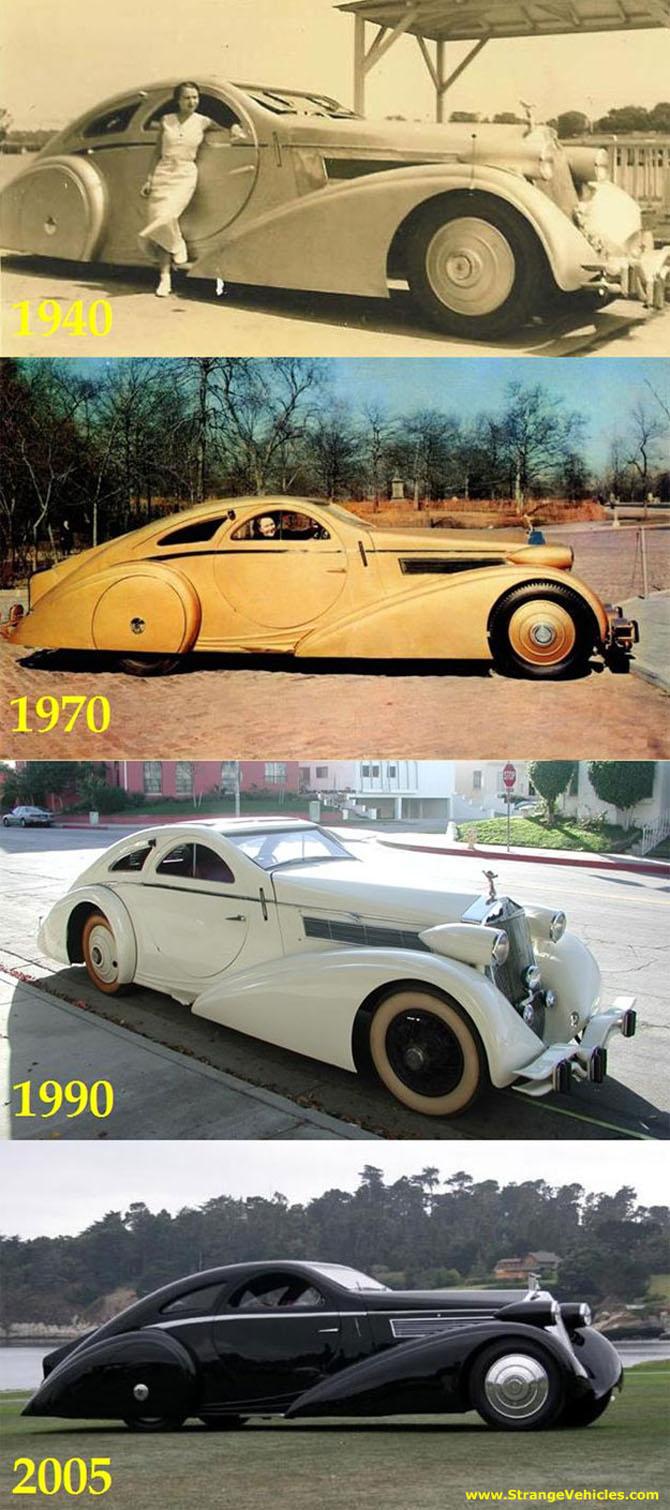 Rolls Royce Phantom I Aerodynamic Coupe by Jonckheere - 1924 Jonckh22