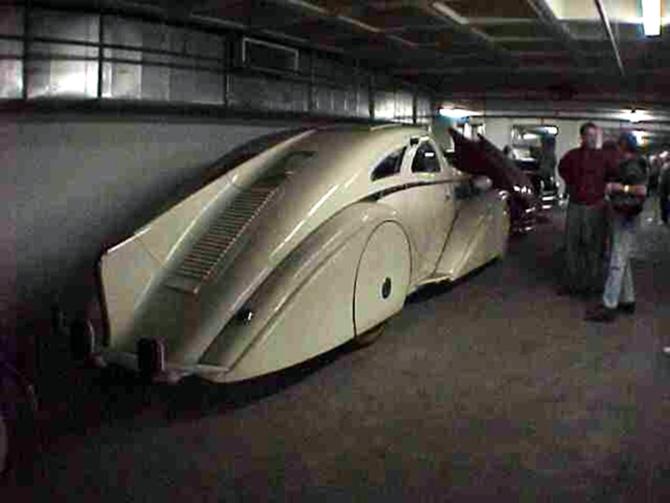 Rolls Royce Phantom I Aerodynamic Coupe by Jonckheere - 1924 Jonckh23