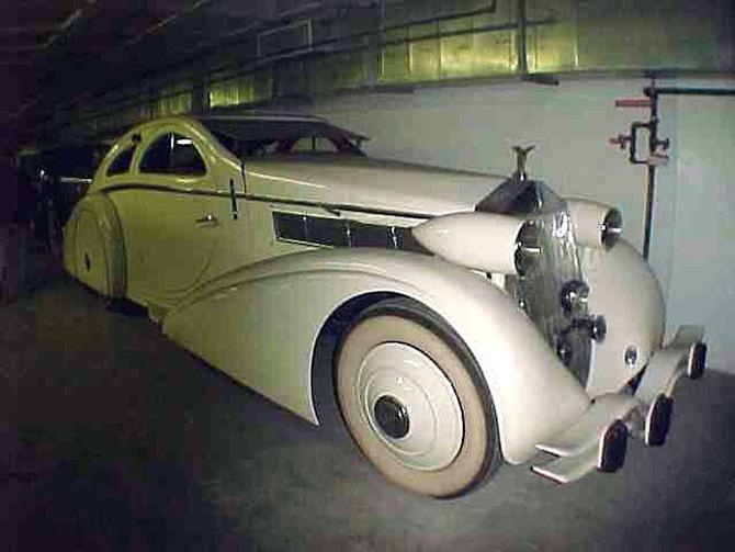 Rolls Royce Phantom I Aerodynamic Coupe by Jonckheere - 1924 Jonckh24