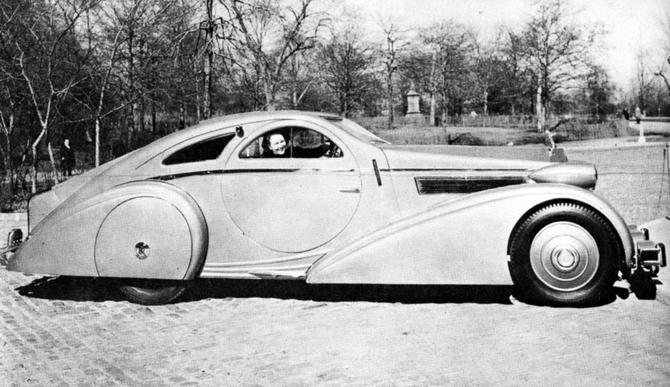 Rolls Royce Phantom I Aerodynamic Coupe by Jonckheere - 1924 Jonckh26