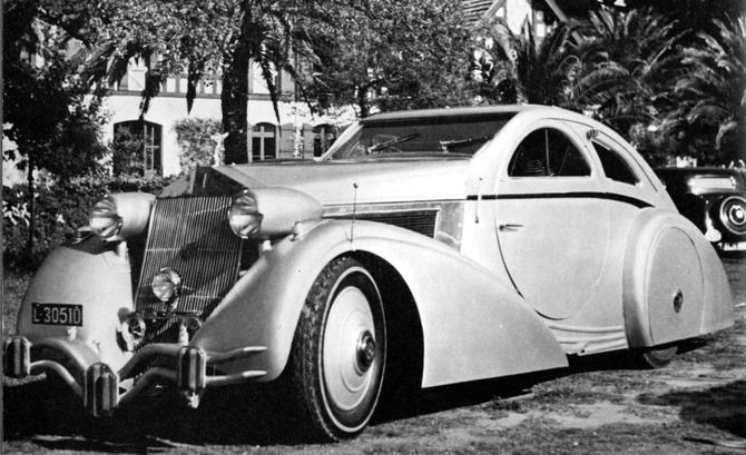Rolls Royce Phantom I Aerodynamic Coupe by Jonckheere - 1924 Jonckh27
