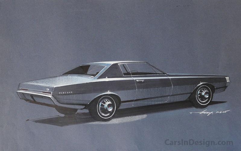 Prototype, maquette et exercice de style - concept car & style - Page 2 Mercur10