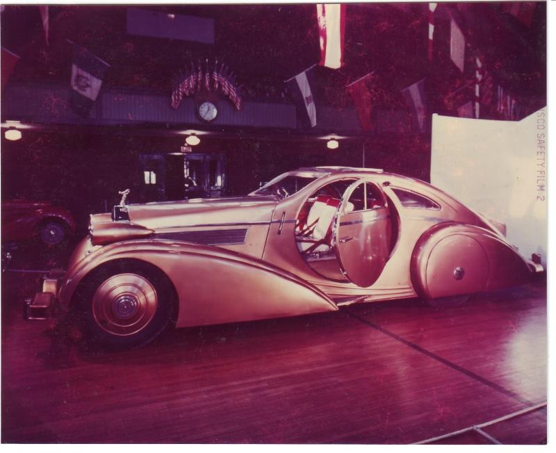 Rolls Royce Phantom I Aerodynamic Coupe by Jonckheere - 1924 Pic1810