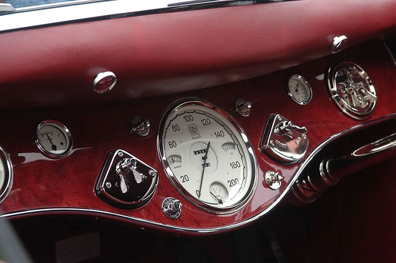 Rolls Royce Phantom I Aerodynamic Coupe by Jonckheere - 1924 Rrjonc13