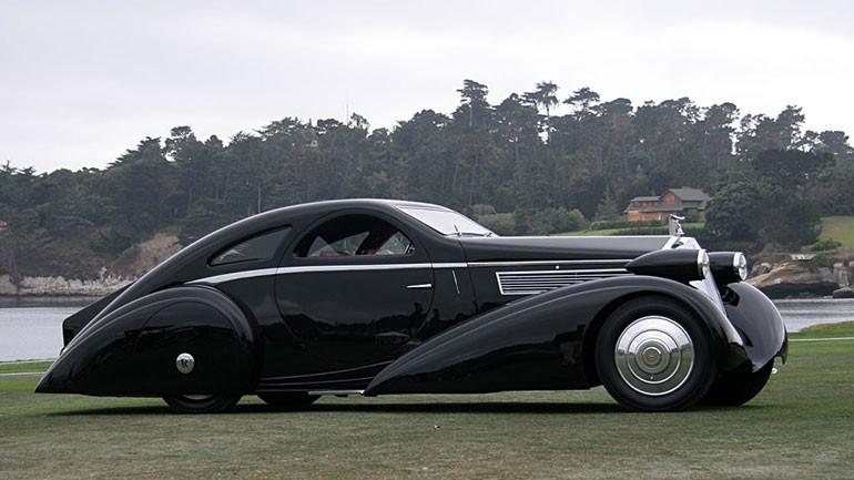 Rolls Royce Phantom I Aerodynamic Coupe by Jonckheere - 1924 Rrjonc14