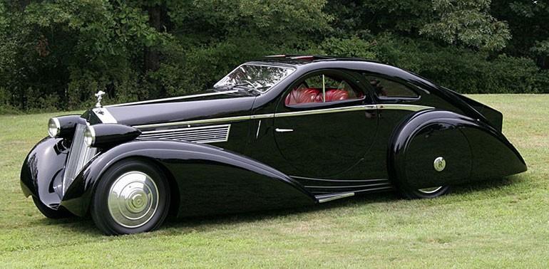 Rolls Royce Phantom I Aerodynamic Coupe by Jonckheere - 1924 Rrjonc16