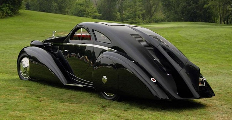 Rolls Royce Phantom I Aerodynamic Coupe by Jonckheere - 1924 Rrjonc20