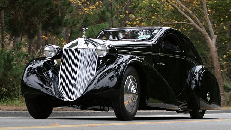 Rolls Royce Phantom I Aerodynamic Coupe by Jonckheere - 1924 Rrjonc21