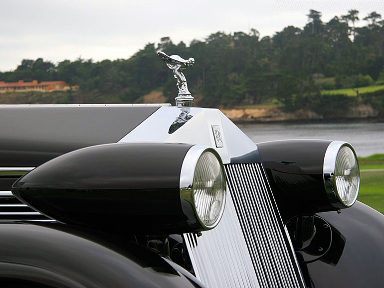 Rolls Royce Phantom I Aerodynamic Coupe by Jonckheere - 1924 Rrjonc23