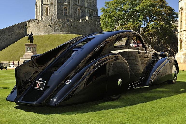 Rolls Royce Phantom I Aerodynamic Coupe by Jonckheere - 1924 Rrjonc24