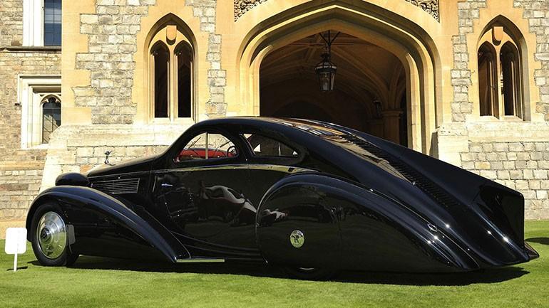 Rolls Royce Phantom I Aerodynamic Coupe by Jonckheere - 1924 Rrjonc25