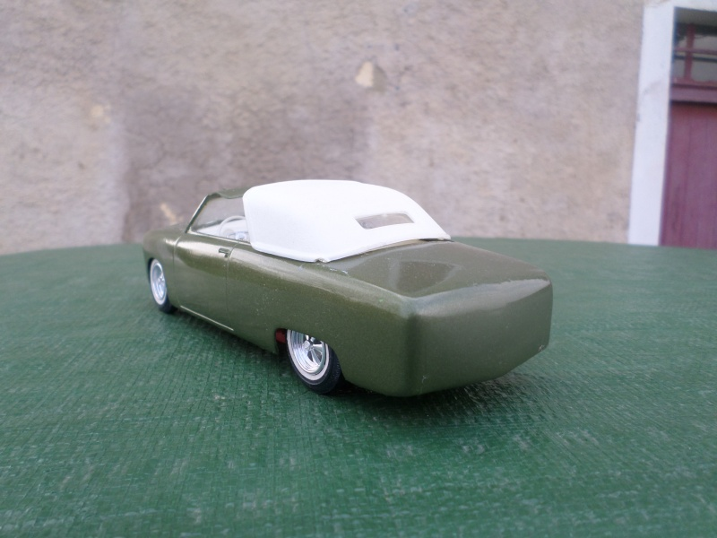 1950 Ford Convertible - customizing kit - trophie series - amt Sam_2160