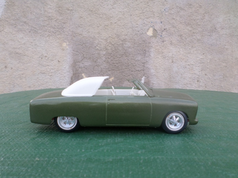 1950 Ford Convertible - customizing kit - trophie series - amt Sam_2161