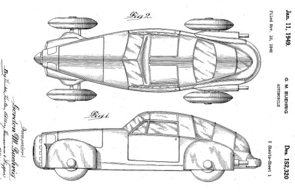 Tasco Prototype by Gordon Buehrig (1948) Tasco-10