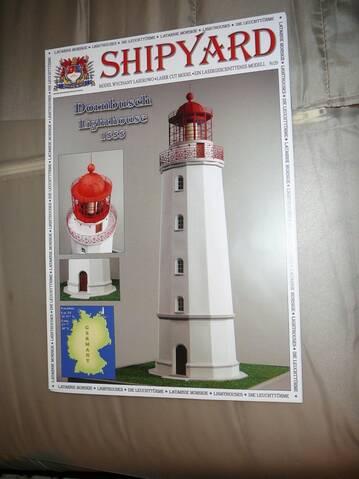 Leuchtturm Seebad Hiddensee Dornbusch Ostsee 10 cm Modell Germany
