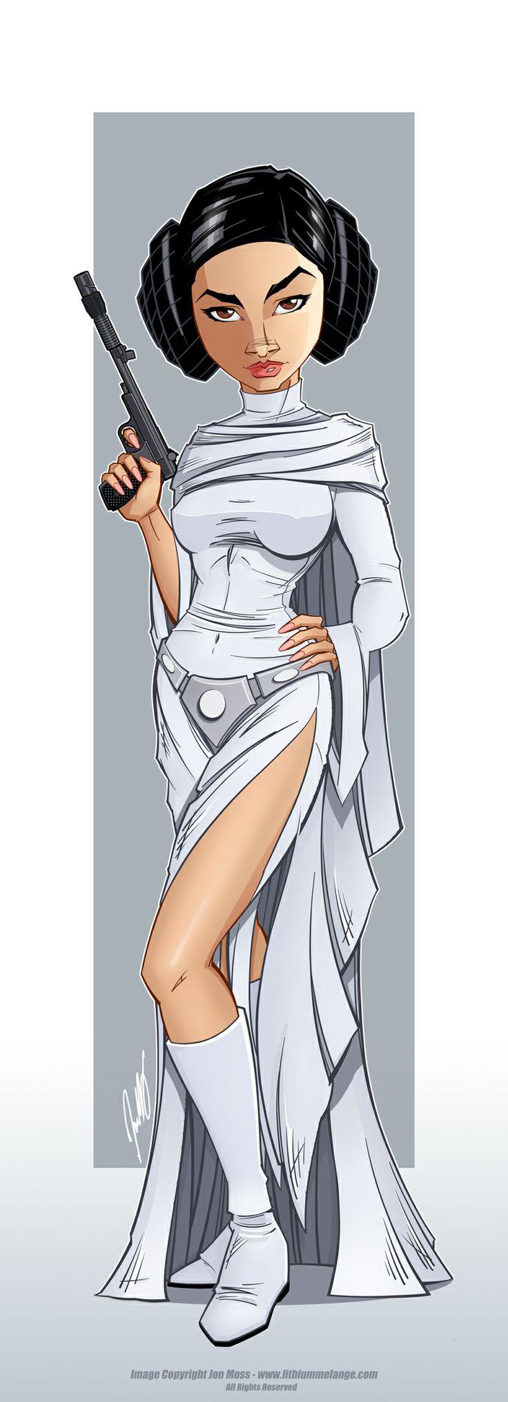 Leia Anime Cartoons 17c24610
