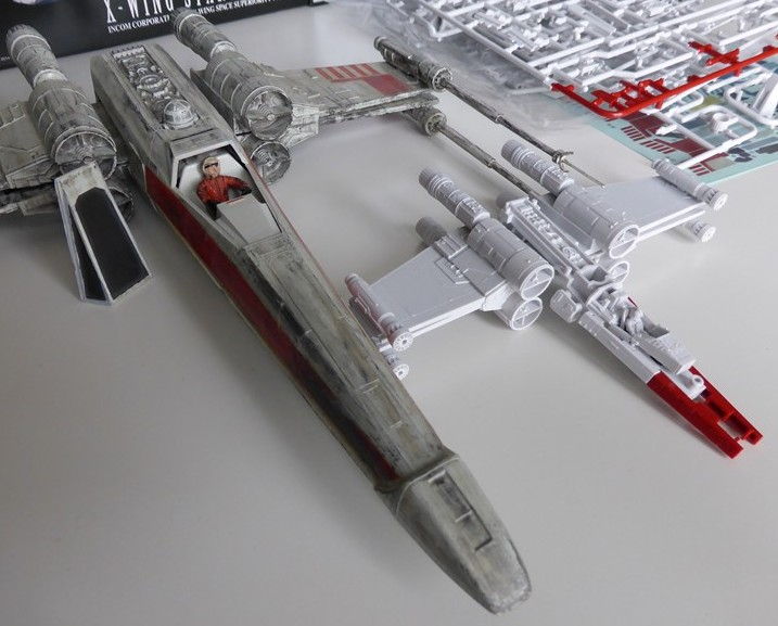 X-WING T-65 BANDAI 1/72 Snap Kit 810