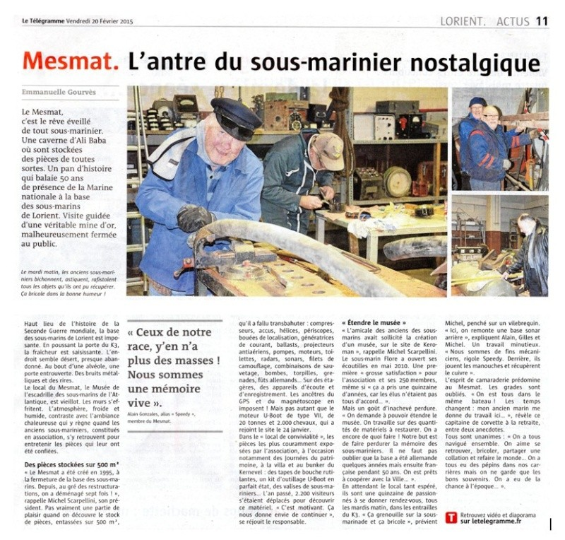[ Associations anciens Marins ] Les membres du MESMAT nouvel équipage de la FLORE - Page 5 Art_le10