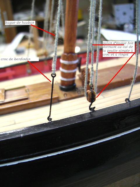 """BISQUINE sur la base """"La Cancalaise"""" Billing Boats 1/40°  - Page 3 Bild0085"""