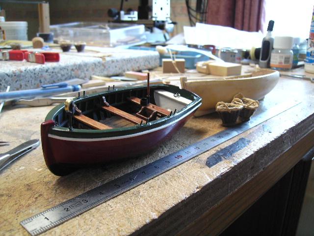 """BISQUINE sur la base """"La Cancalaise"""" Billing Boats 1/40°  - Page 4 Bild0124"""