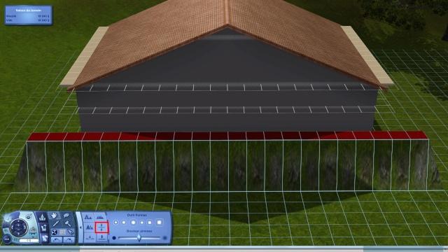 [Intermédiaire]Créer un revêtement intérieur des toits en pente Tuto_119