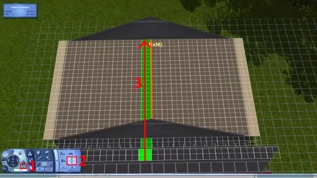 [Intermédiaire]Créer un revêtement intérieur des toits en pente Tuto_124