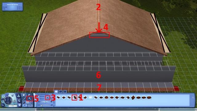 [Intermédiaire]Créer un revêtement intérieur des toits en pente Tuto_125