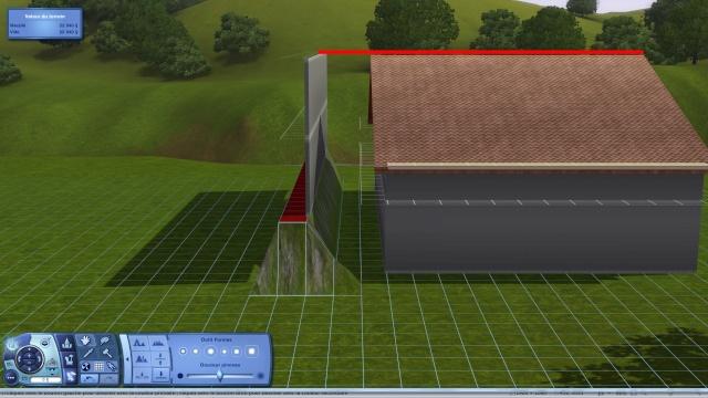 [Intermédiaire]Créer un revêtement intérieur des toits en pente Tuto_127