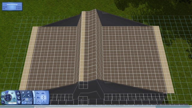 [Intermédiaire]Créer un revêtement intérieur des toits en pente Tuto_218