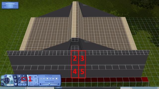 [Intermédiaire]Créer un revêtement intérieur des toits en pente Tuto_220