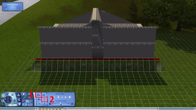 [Intermédiaire]Créer un revêtement intérieur des toits en pente Tuto_223