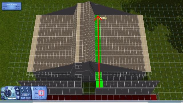 [Intermédiaire]Créer un revêtement intérieur des toits en pente Tuto_224