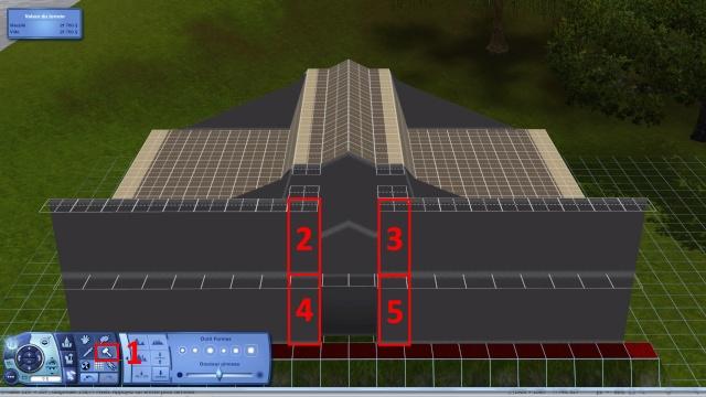 [Intermédiaire]Créer un revêtement intérieur des toits en pente Tuto_230