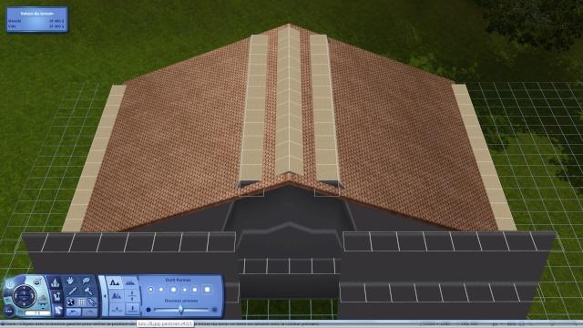 [Intermédiaire]Créer un revêtement intérieur des toits en pente Tuto_312