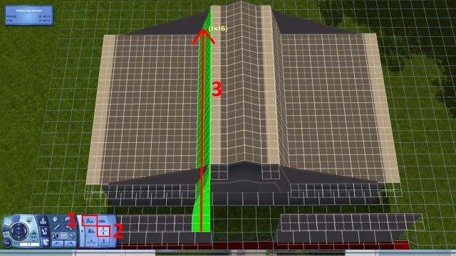 [Intermédiaire]Créer un revêtement intérieur des toits en pente Tuto_326