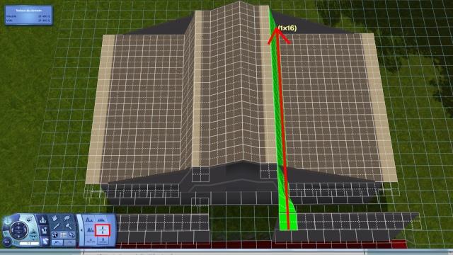 [Intermédiaire]Créer un revêtement intérieur des toits en pente Tuto_327