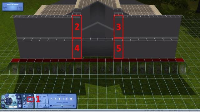 [Intermédiaire]Créer un revêtement intérieur des toits en pente Tuto_328