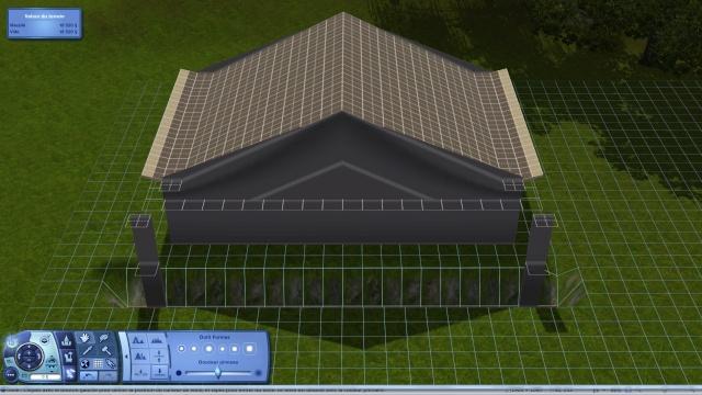[Intermédiaire]Créer un revêtement intérieur des toits en pente Tuto_329