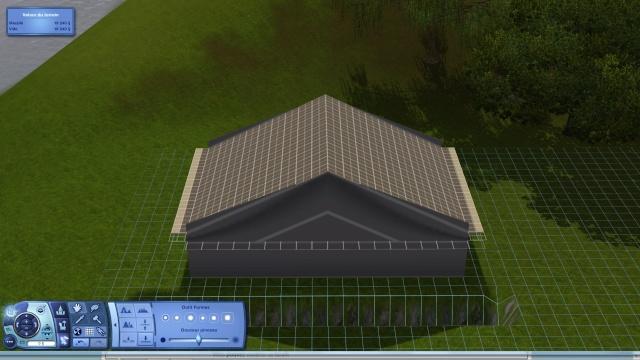 [Intermédiaire]Créer un revêtement intérieur des toits en pente Tuto_330