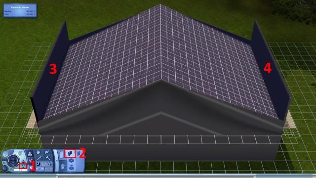 [Intermédiaire]Créer un revêtement intérieur des toits en pente Tuto_412