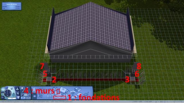 [Intermédiaire]Créer un revêtement intérieur des toits en pente Tuto_413