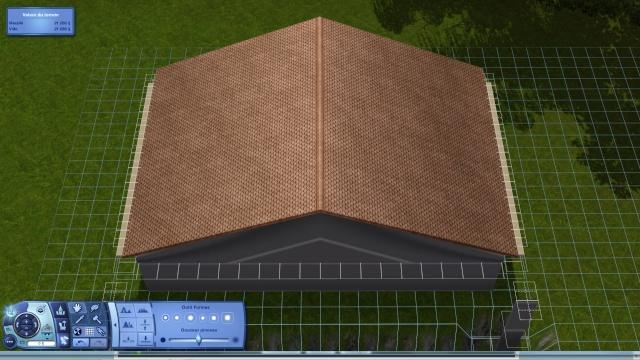 [Intermédiaire]Créer un revêtement intérieur des toits en pente Tuto_416