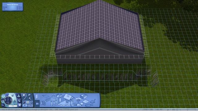 [Intermédiaire]Créer un revêtement intérieur des toits en pente Tuto_420