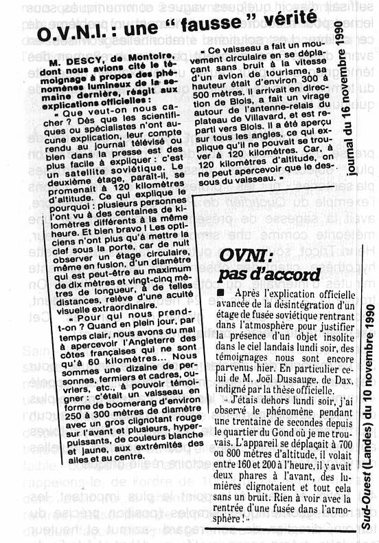 """""""Les dossiers surnaturels"""" : 5 novembre 1990 : La mystérieuse nuit Articl10"""