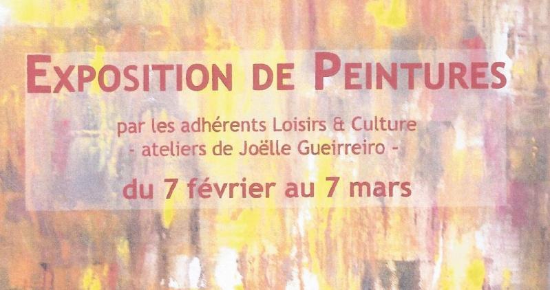 Du 6 février au 7 mars, l'expo des élèves à Soisy Captur10