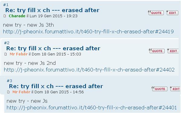 Numerazione dei post: problemi script   Before10
