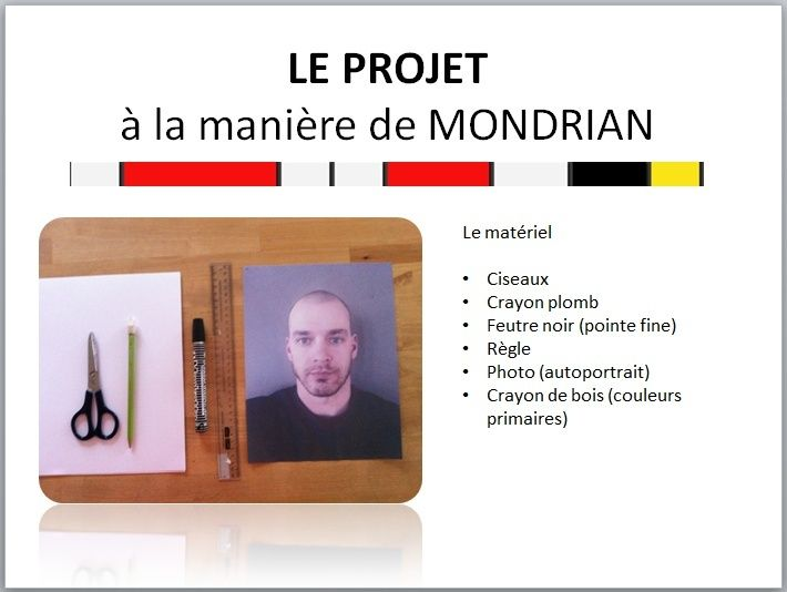 À LA MANIÈRE DE MONDRIAN  Mondri10